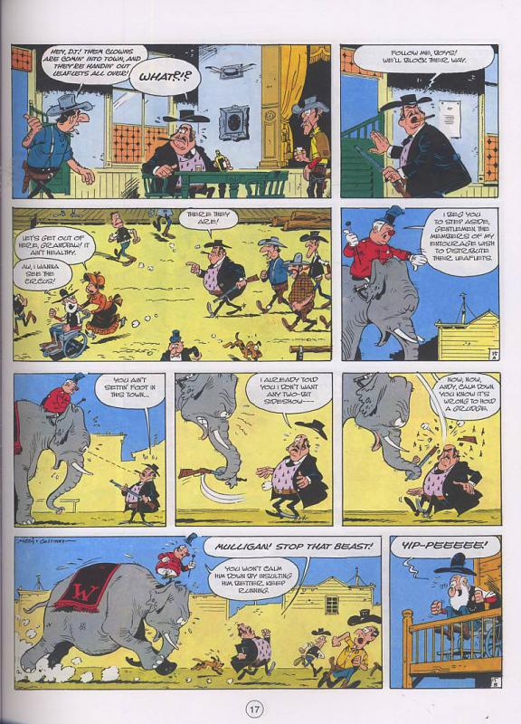 Lucky Luke Western Circus review