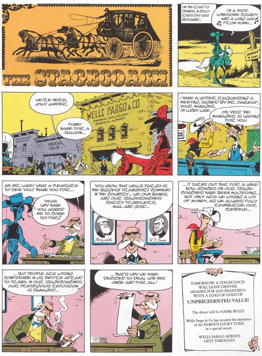 Lucky Luke The Stagecoach review
