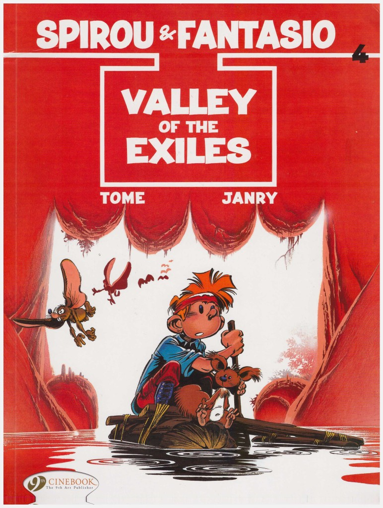 Spirou and Fantasio: Valley of the Exiles