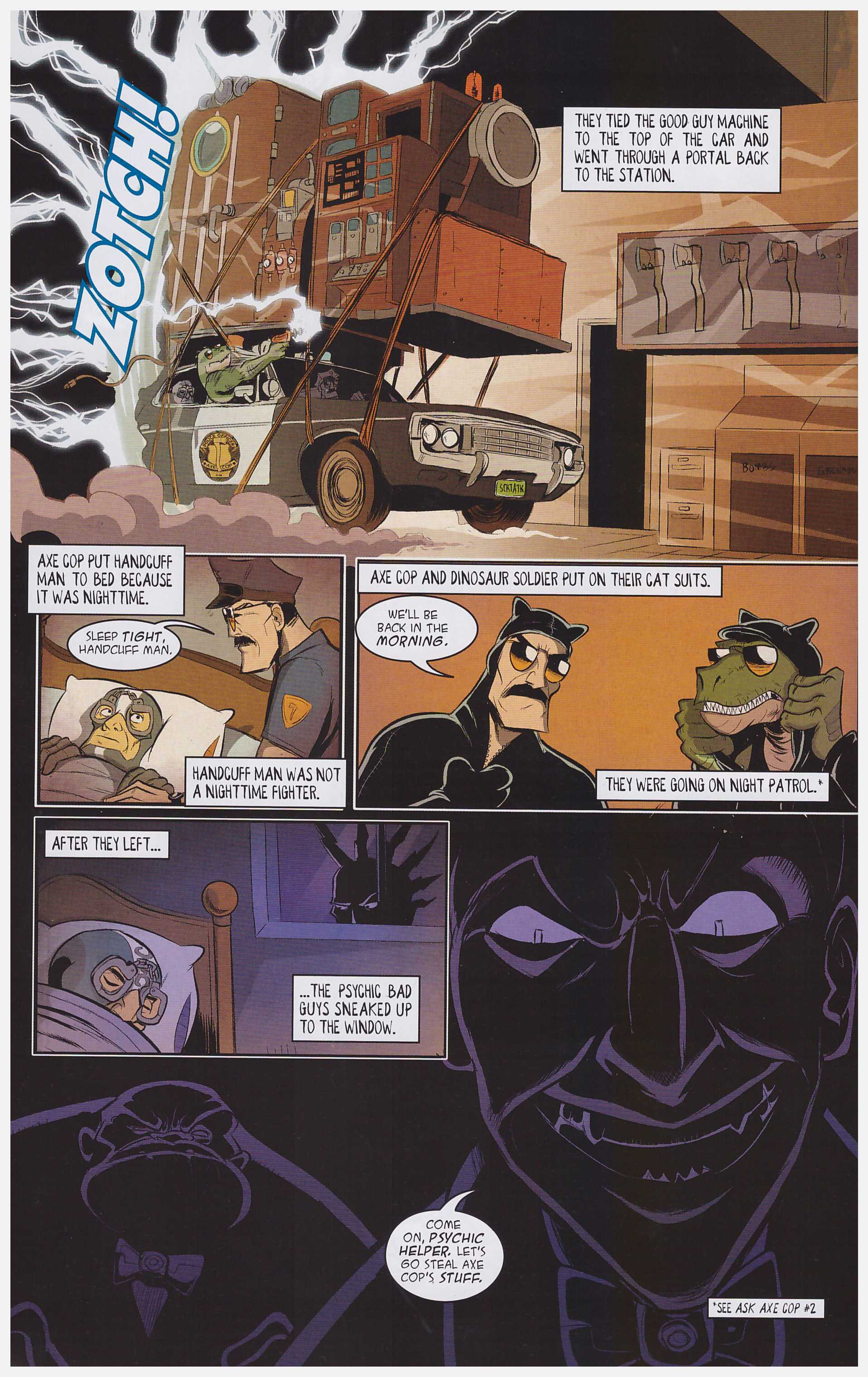 Axe Cop Bad Guy Earth review