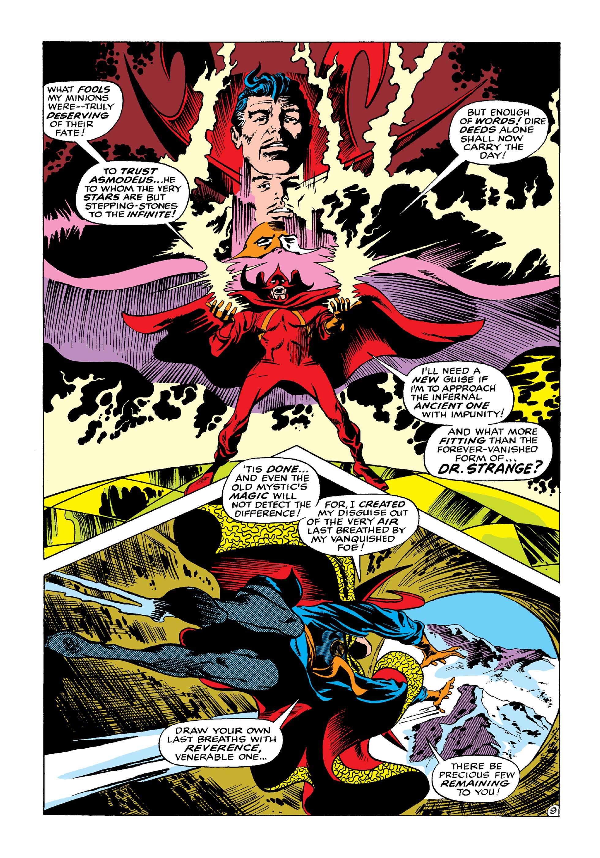 Marvel Masterworks Doctor Strange vol 3 review