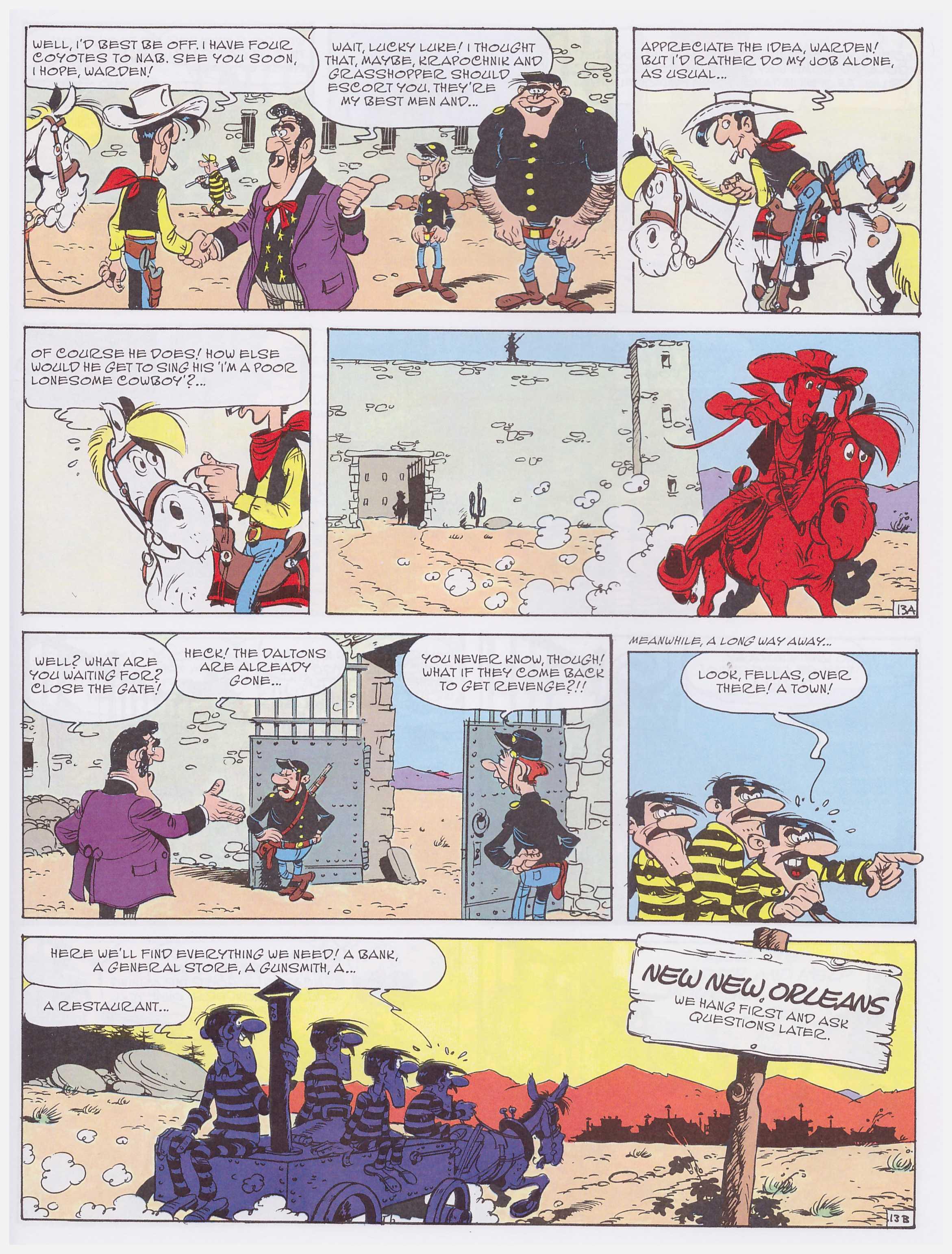 Lucky Luke the Daltons' Stash review