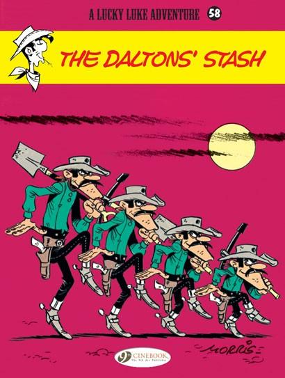 Lucky Luke: The Daltons' Stash