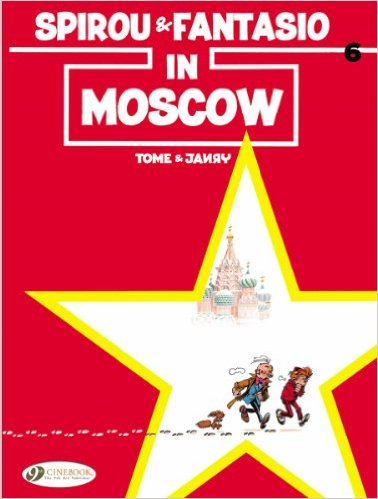 Spirou and Fantasio in Moscow
