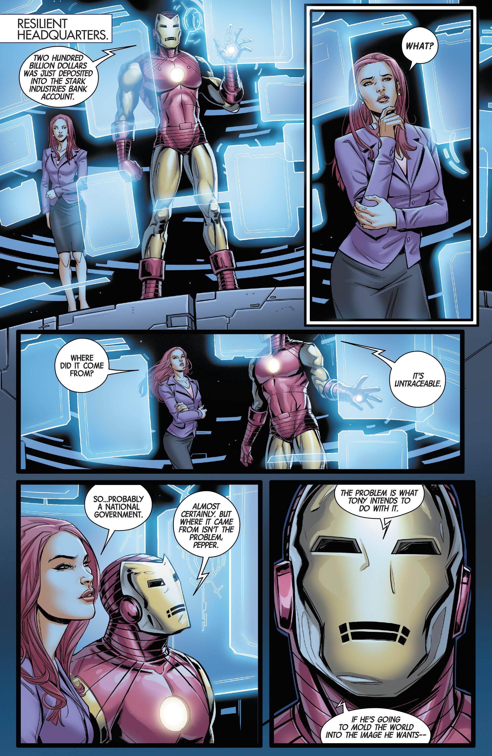 Superior Iron Man Stark Contrast review