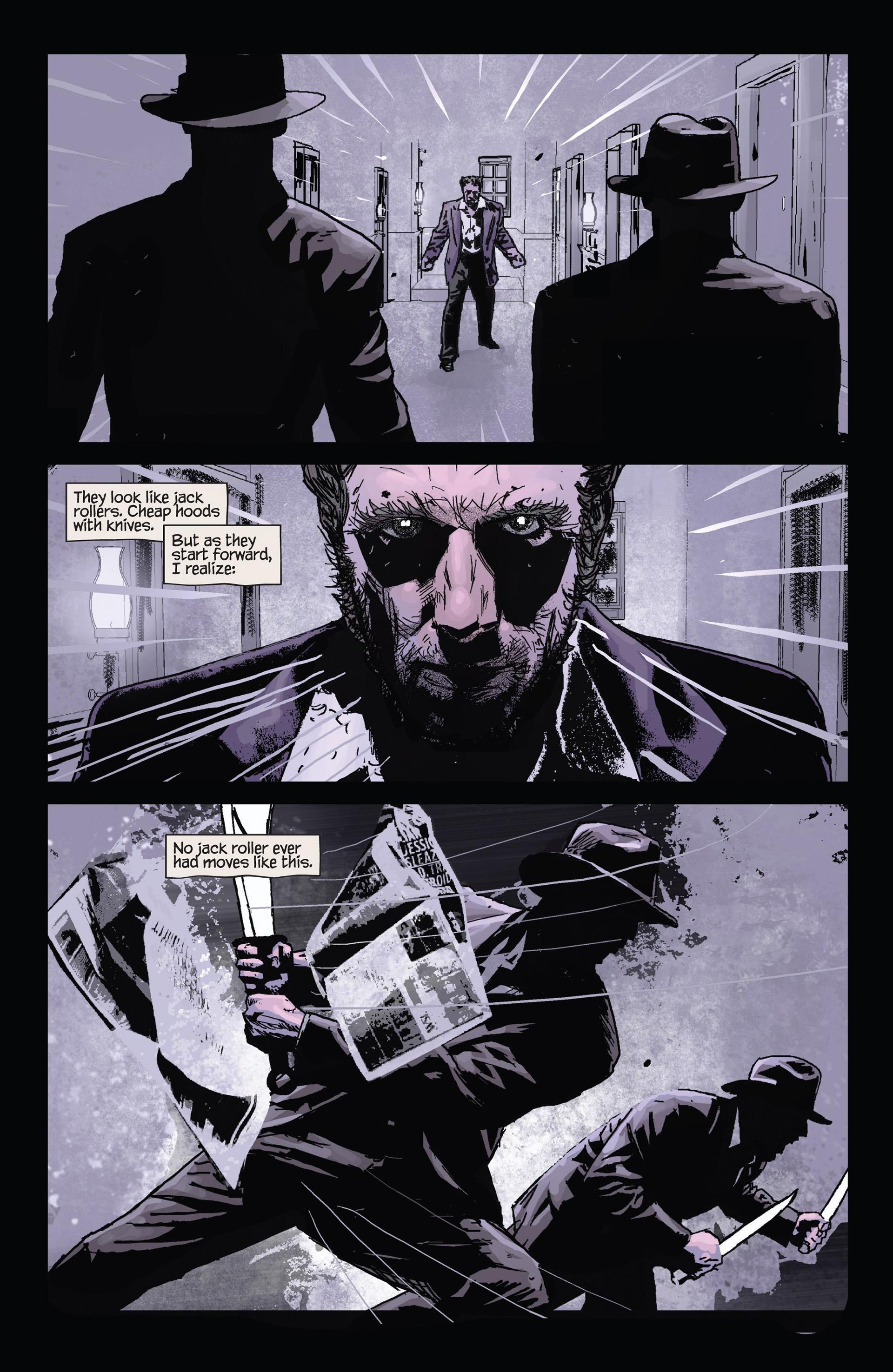 Wolverine Noir review