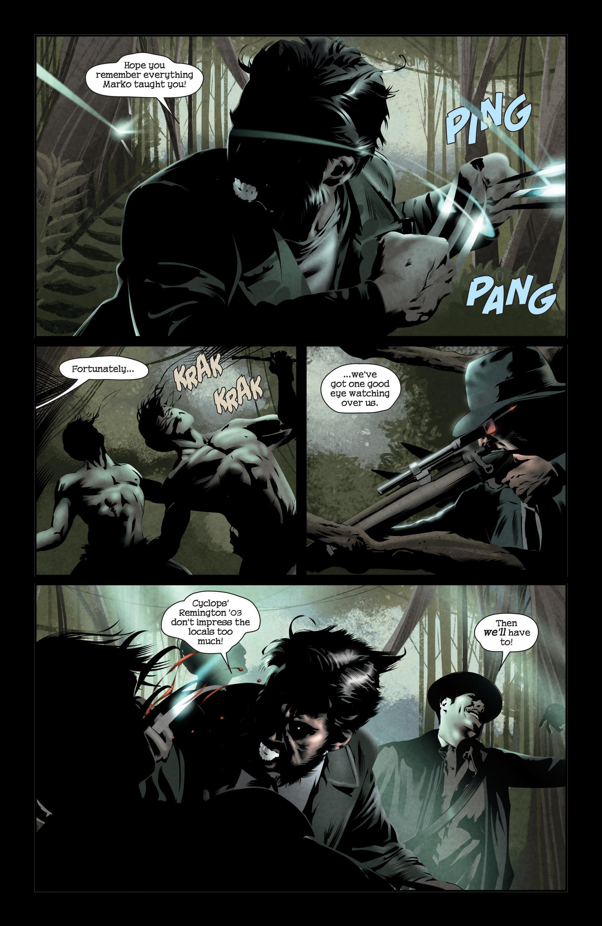 X-Men Noir Mark of Cain reivew