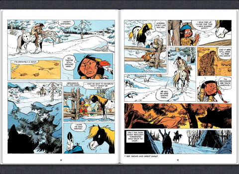 Yakari Land of Wolves Vol.6 Review