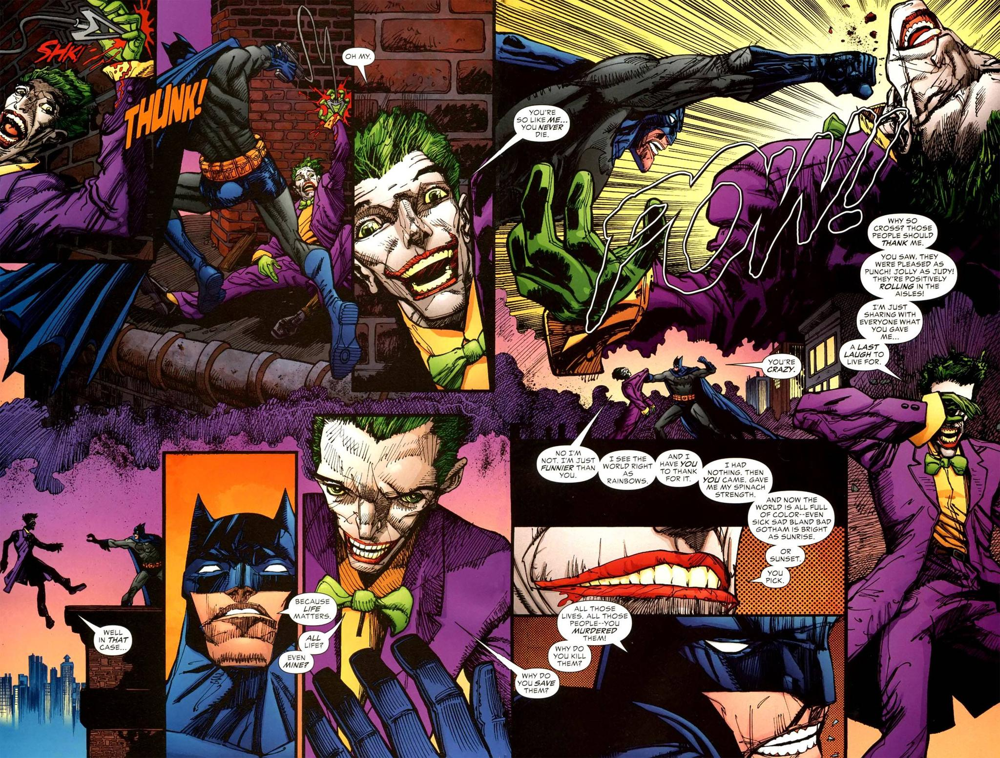 Batman Lovers and Madmen review