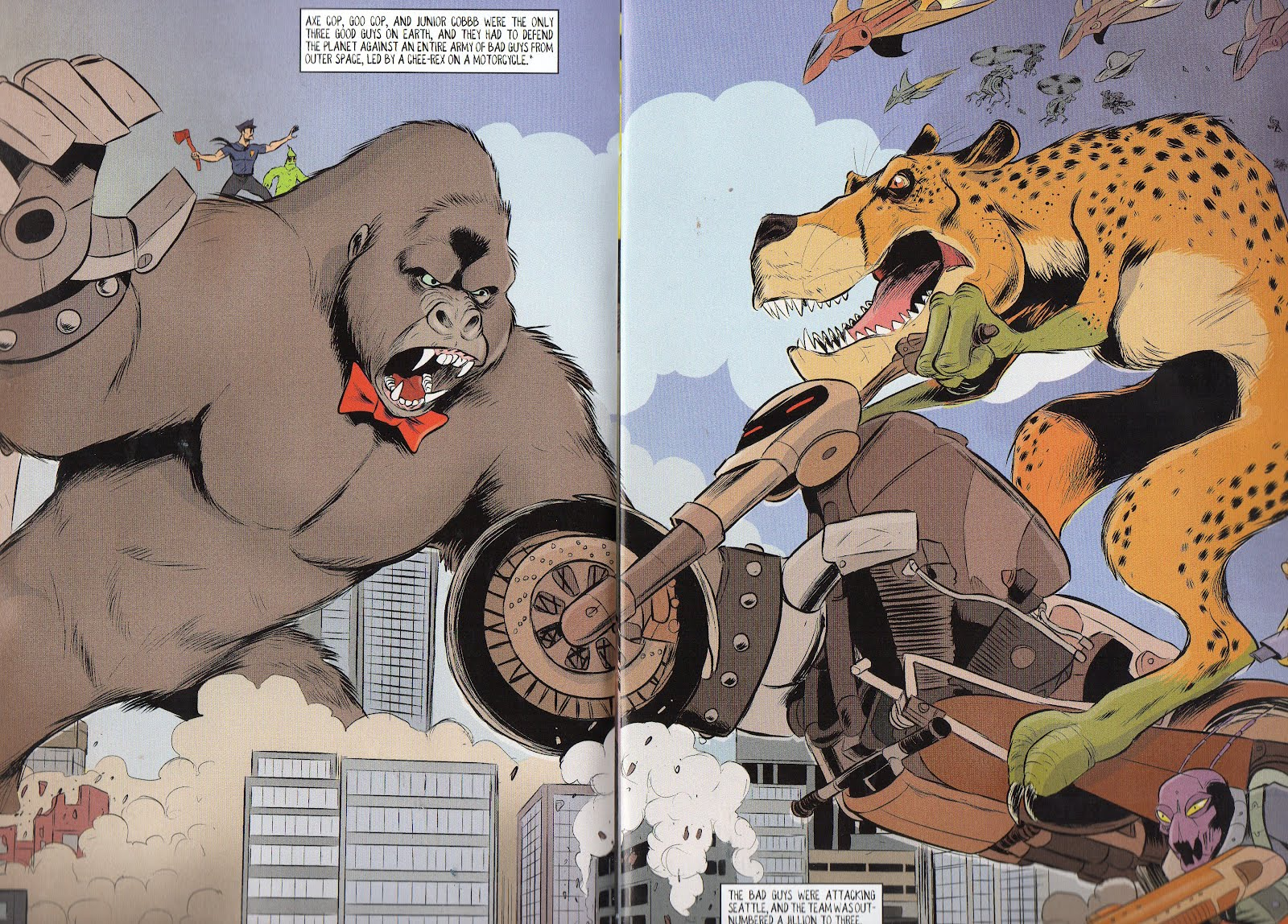 Axe Cop President of the World review