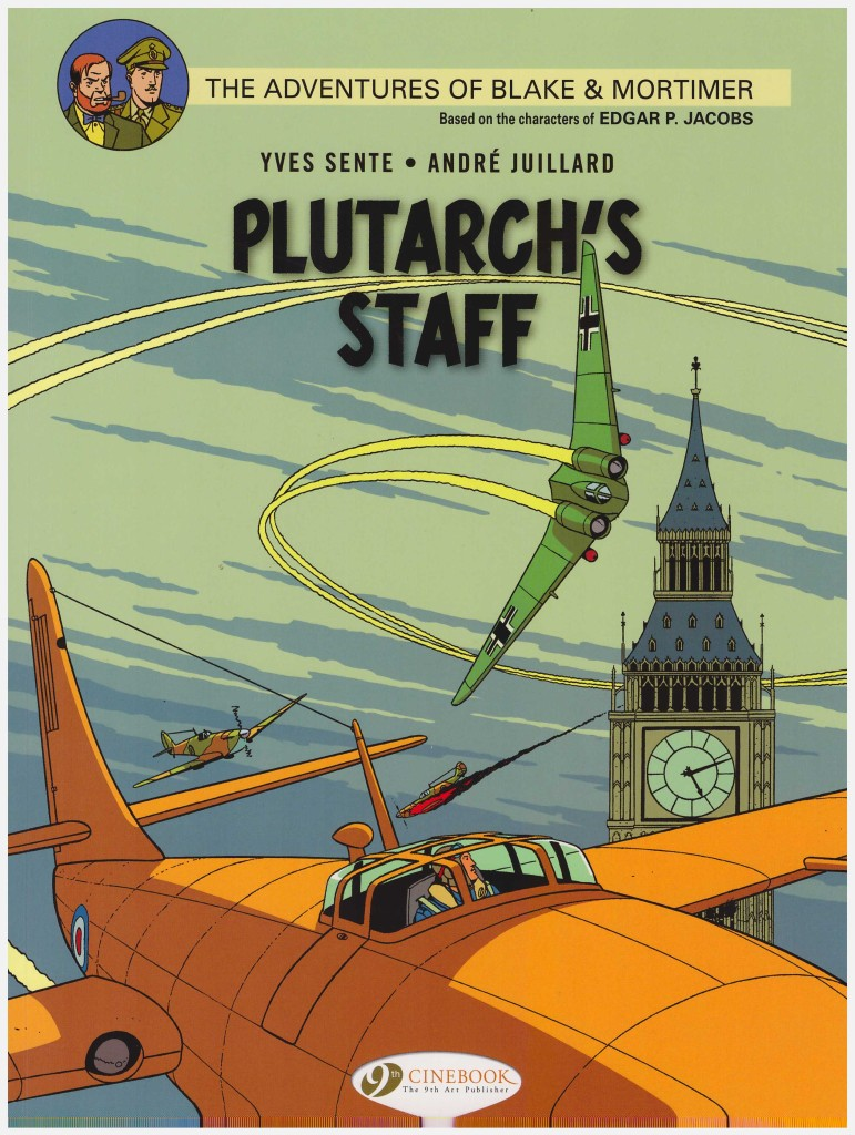 The Adventures of Blake & Mortimer: Plutarch's Staff