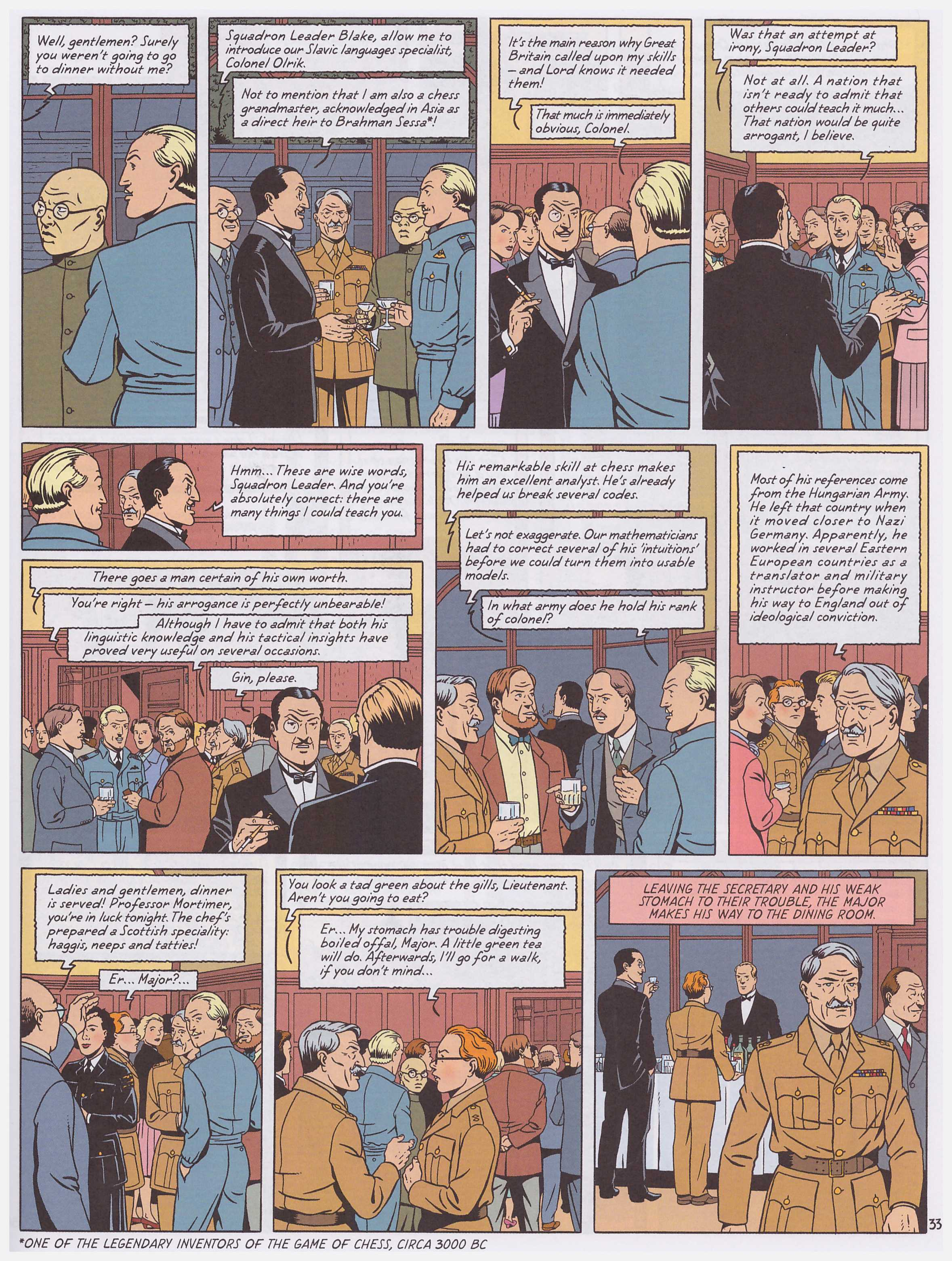 Blake and Mortimer Plutarch's Staff review