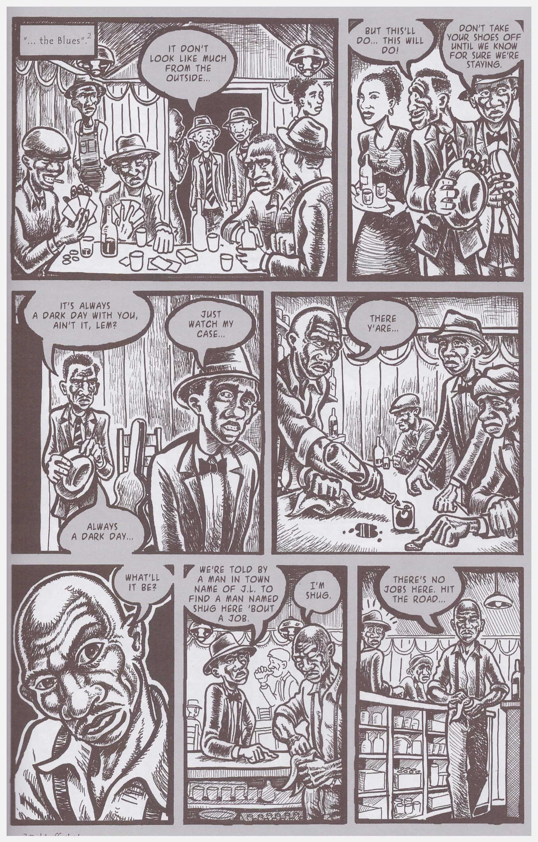 Bluesman graphic novel Book One review