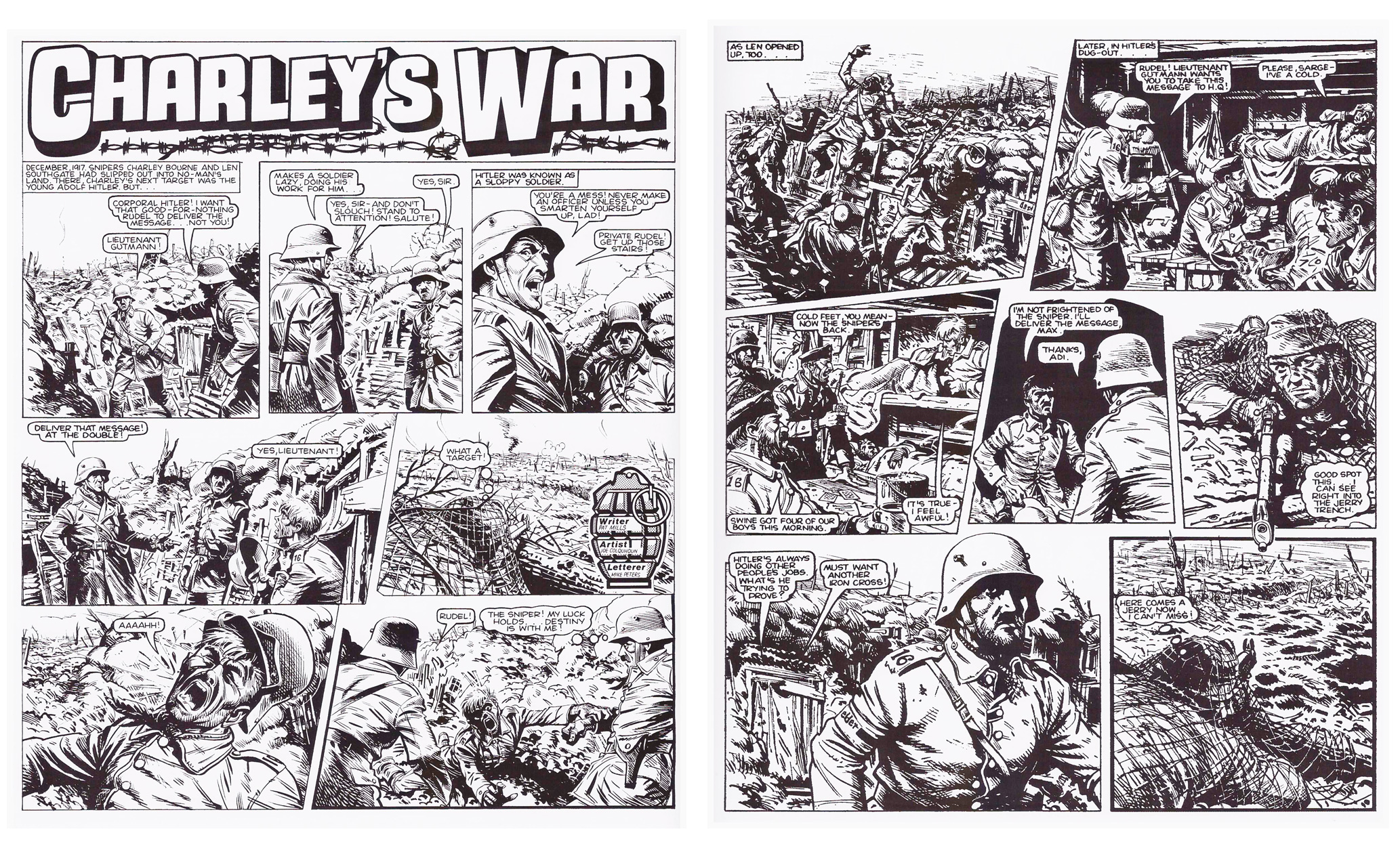 Charley's War Hitler's Youth review