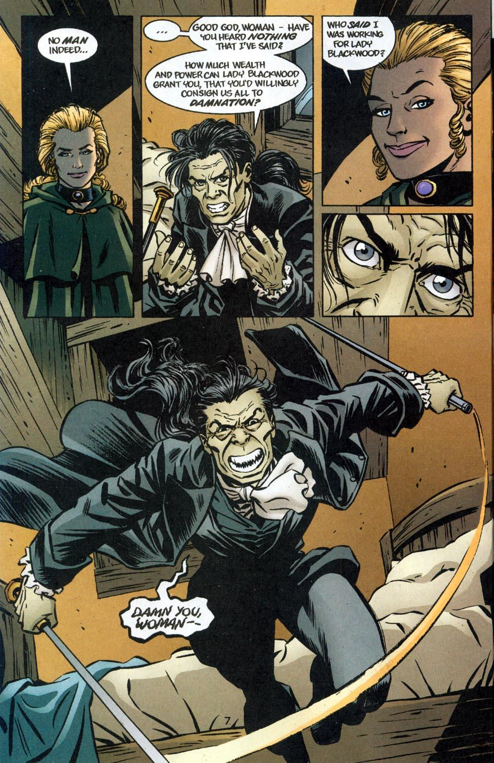 Hellblazer Lady Constantine review