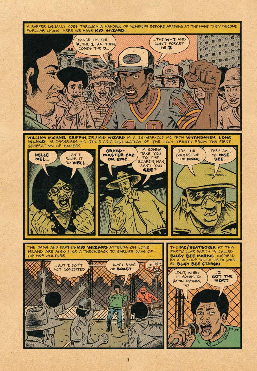 Hip Hop Family Tree vol 4 review