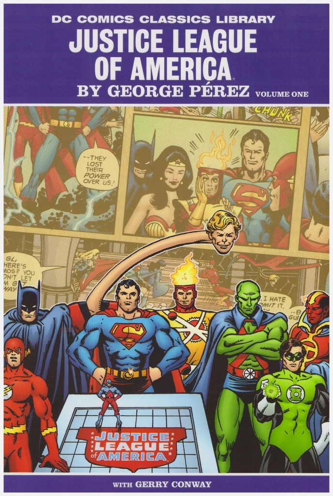 Justice League of America by George Pérez Volume One