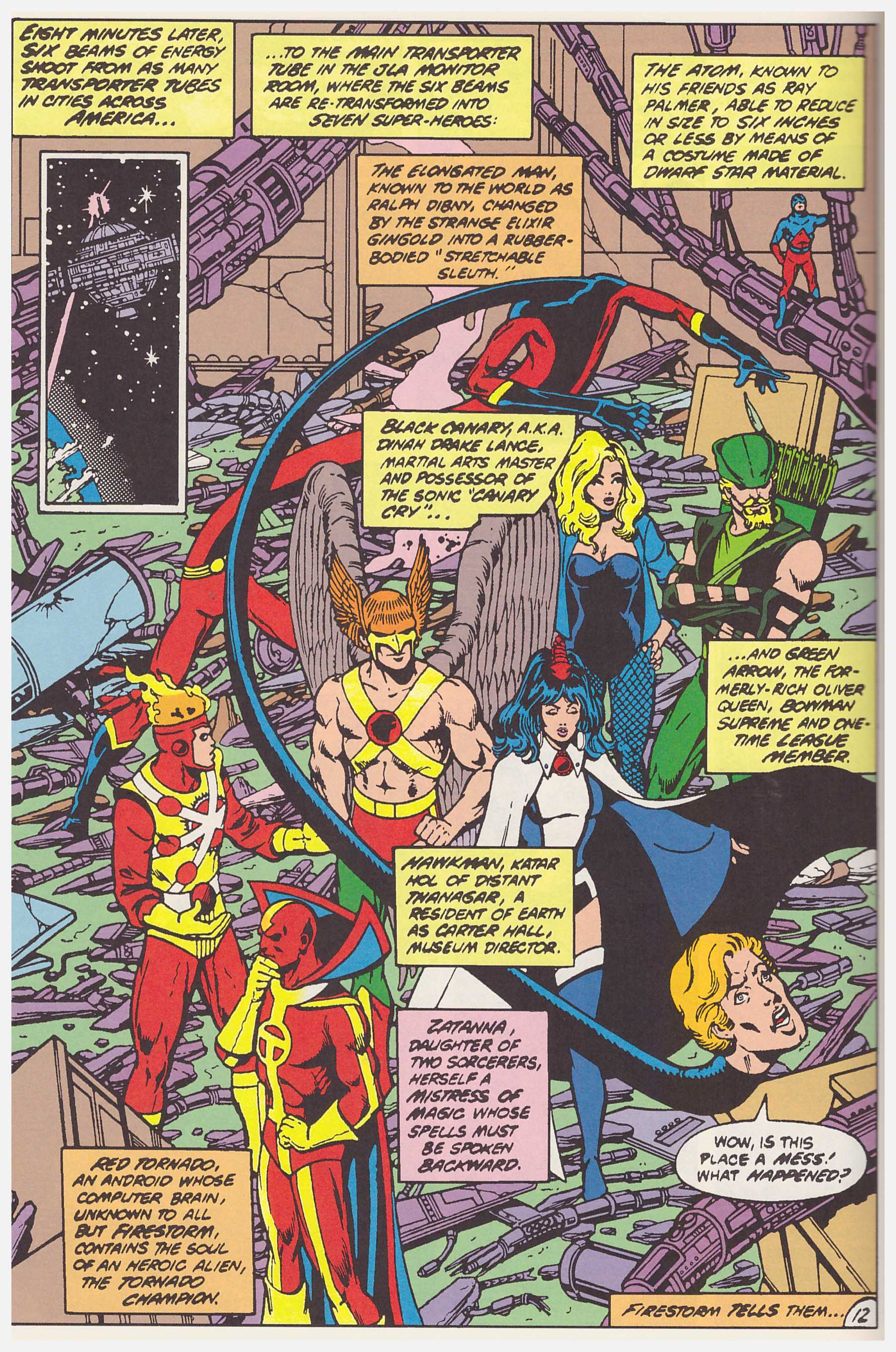 Justice League of America by George Perez review