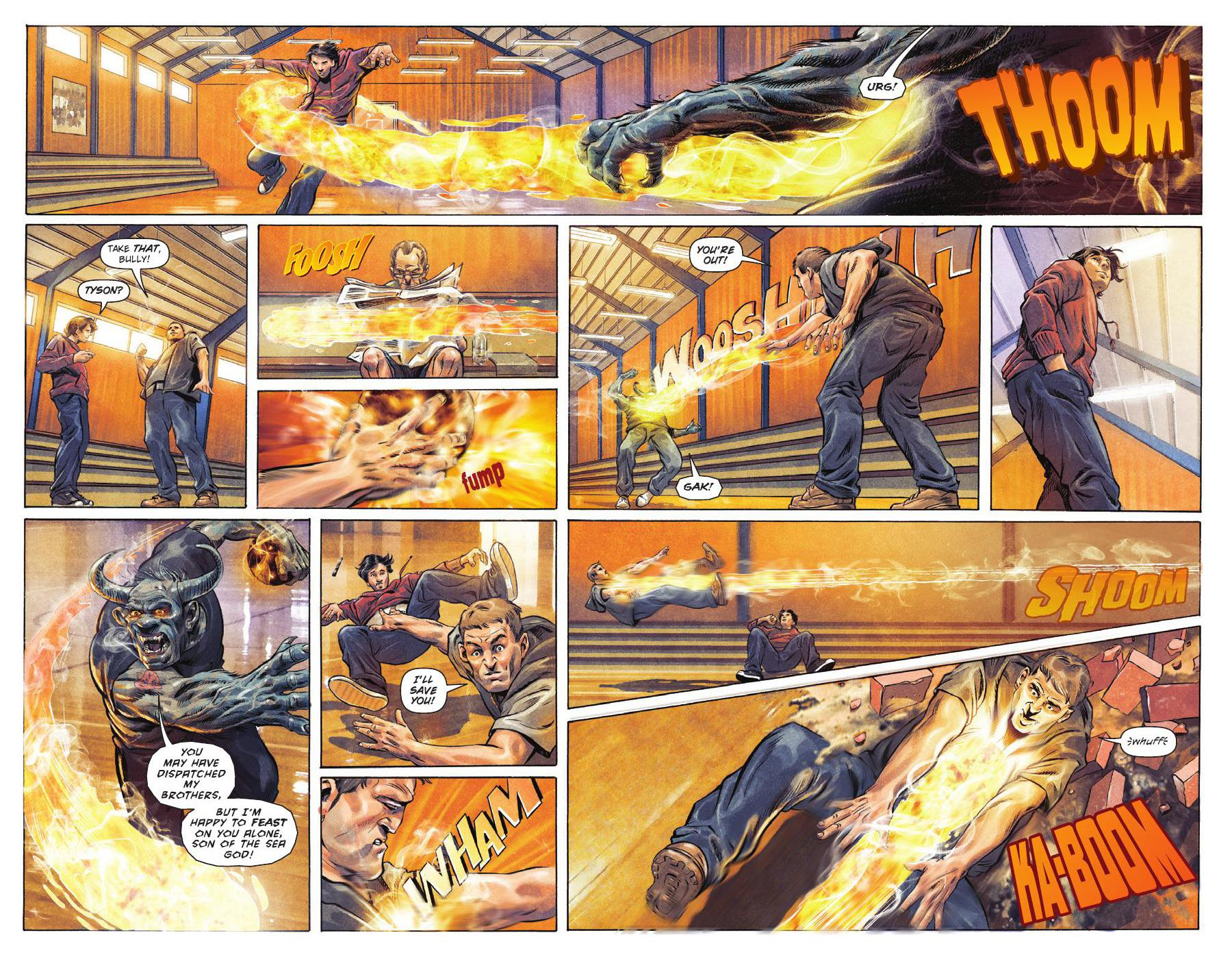 Percy Jackson Sea of Monsters graphic novel review