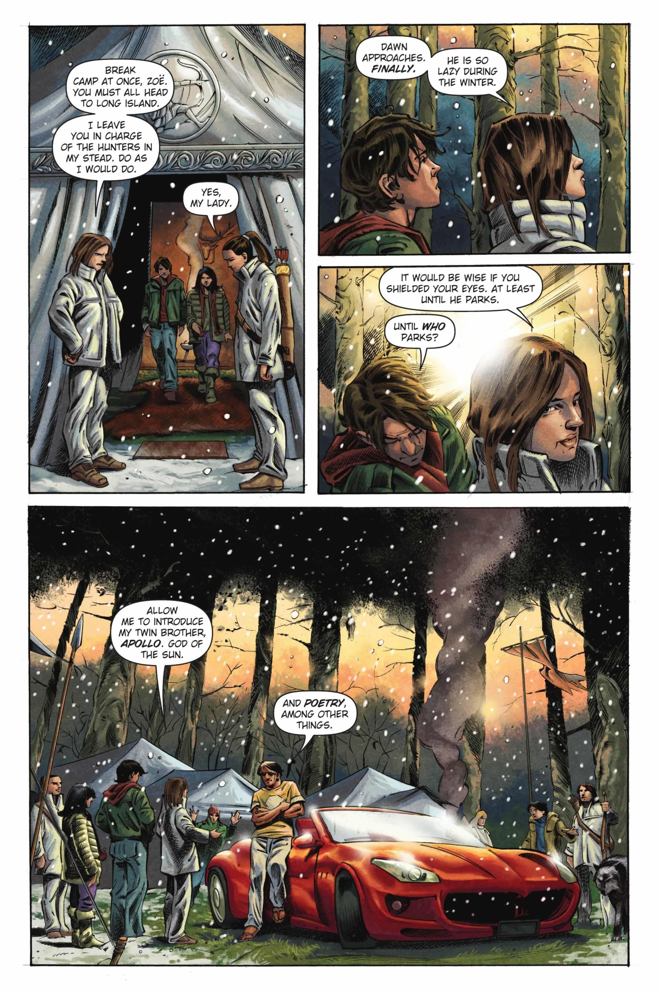 Percy Jackson The Titan's Curse graphic novel review