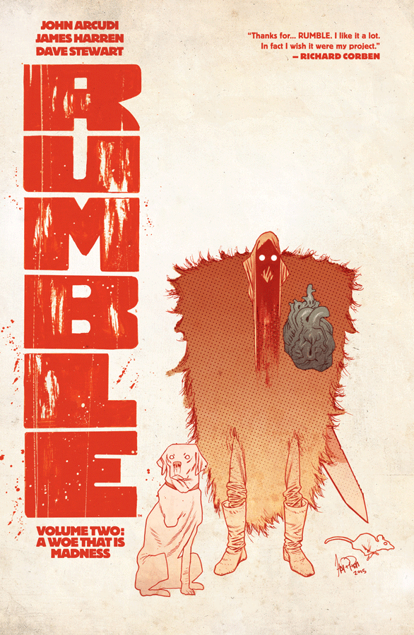 Rumble Volume Two: A Woe That is Madness