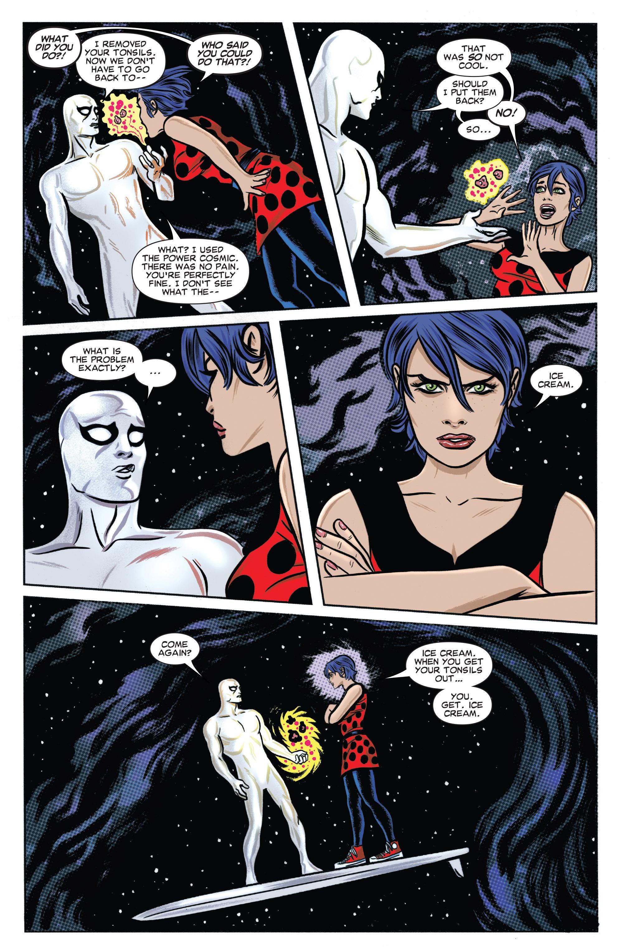 Silver Surfer Worlds Apart review