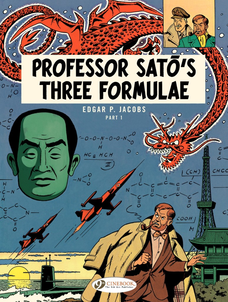 The Adventures of Blake & Mortimer: Professor Satō's Three Formulae Part 1