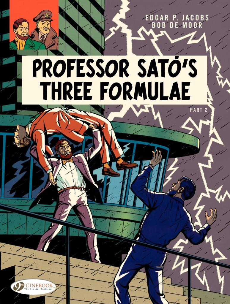 The Adventures of Blake & Mortimer: Professor Satō's Three Formulae Part 2