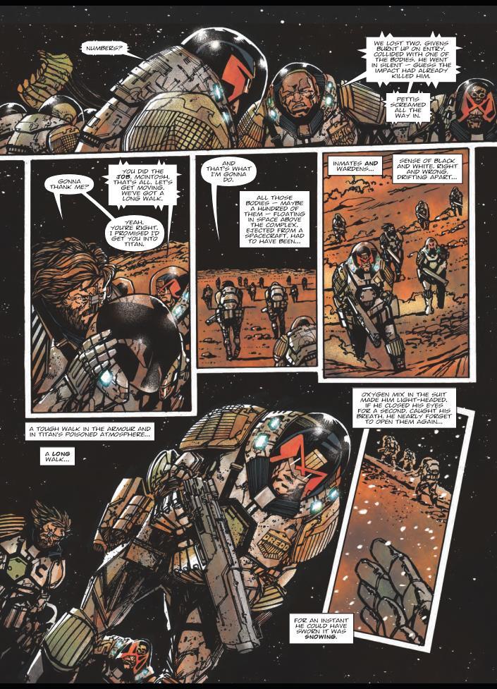 Judge Dredd Titan review