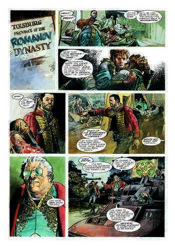 Nikolai Dante Tsar Wars Volume 1 Review