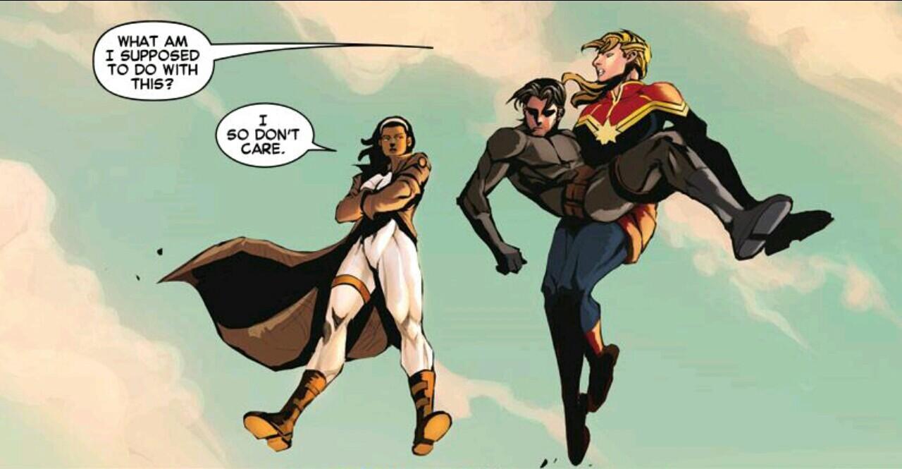 Captain Marvel Earth's Mightiest Hero, volume 1 review sample