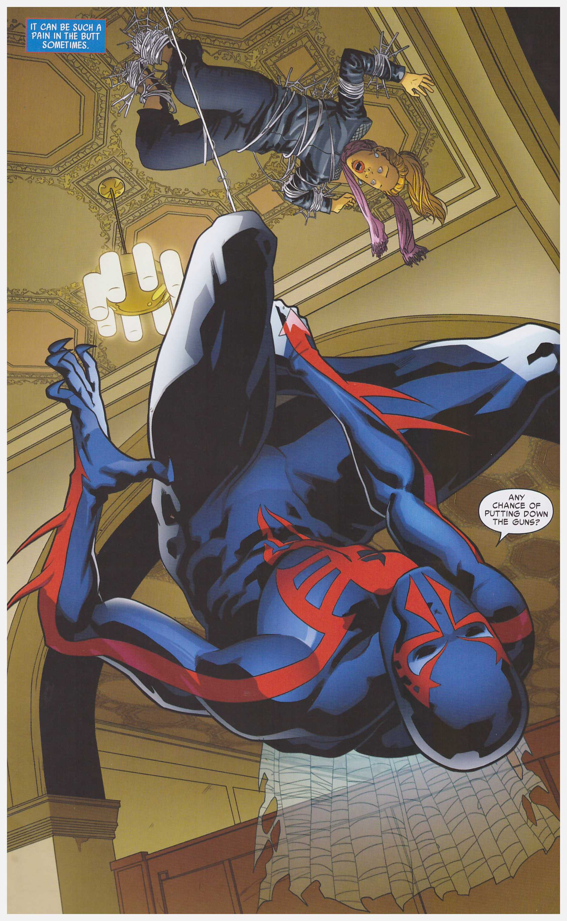 Spider-Man 2099 Out of Time review