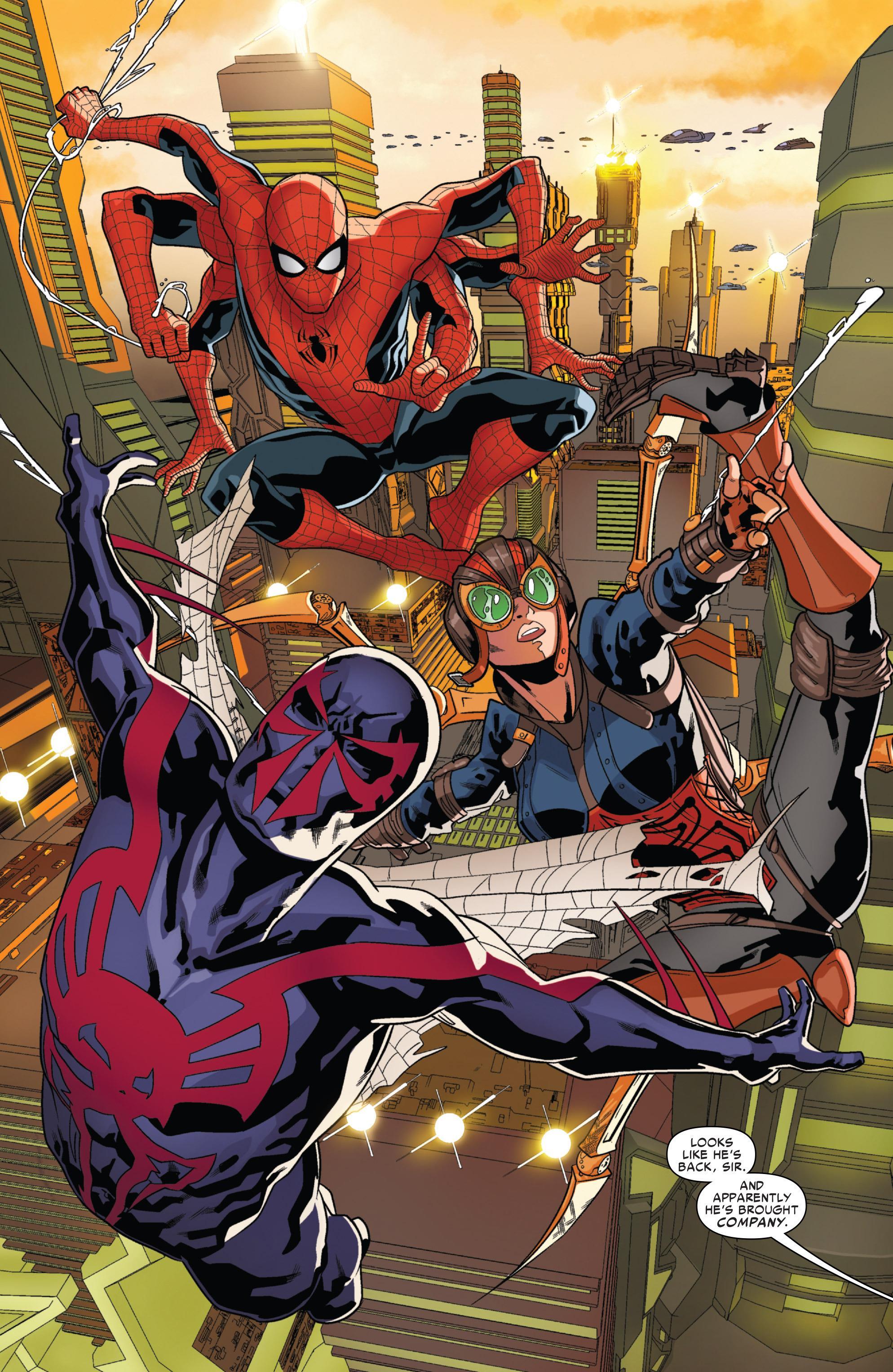 Spider-Man 2099 Spider-Verse review