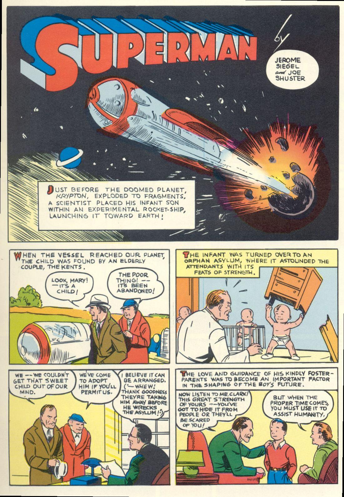 Superman From the 30s to the 70s review