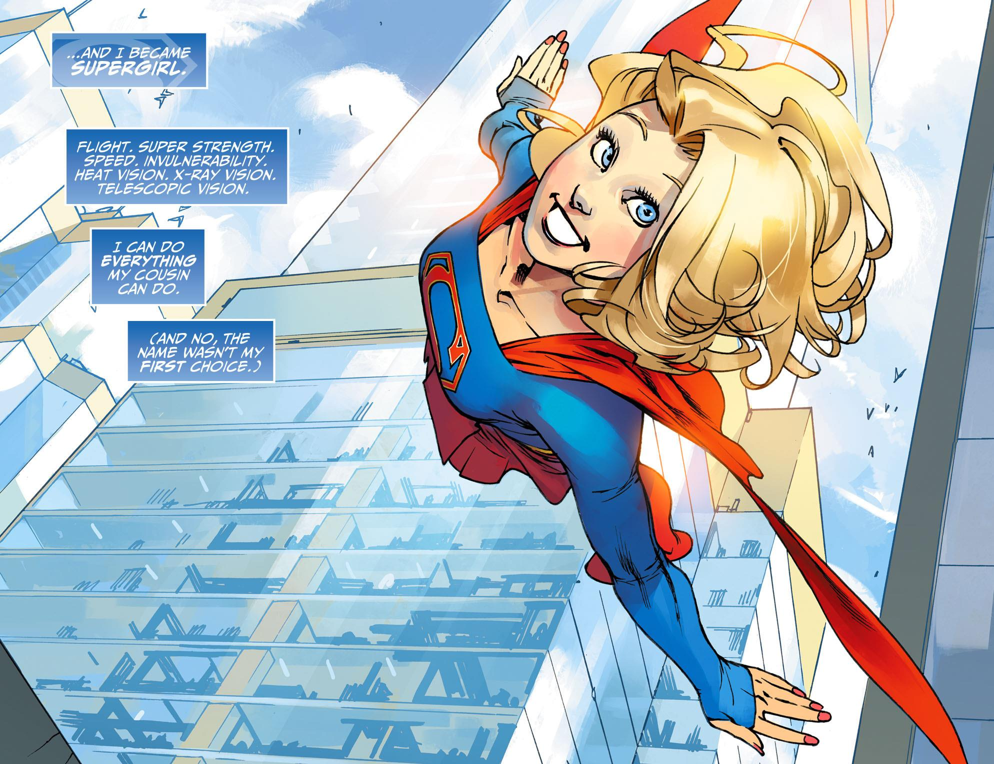 The Adventures of Supergirl graphic novel review
