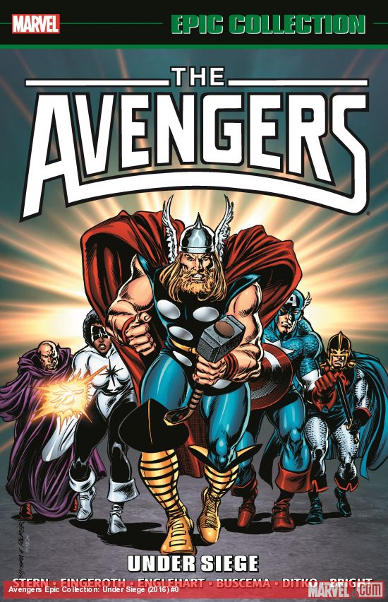 Marvel Epic Collection: The Avengers – Under Siege