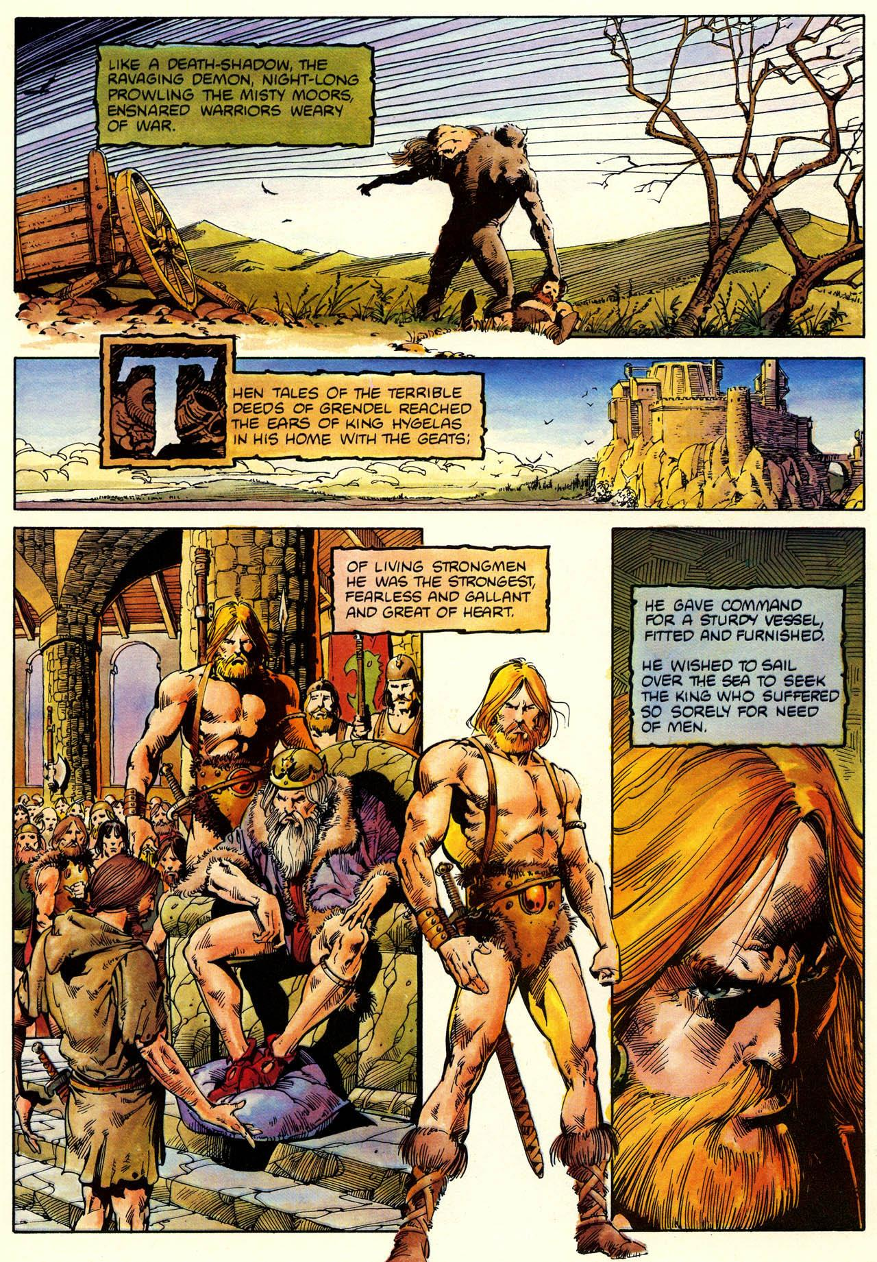 Beowulf Graphic Novel review