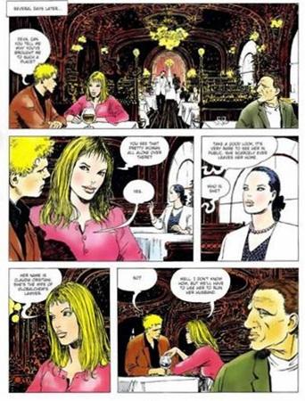 Click! 4 Manara graphic novel review