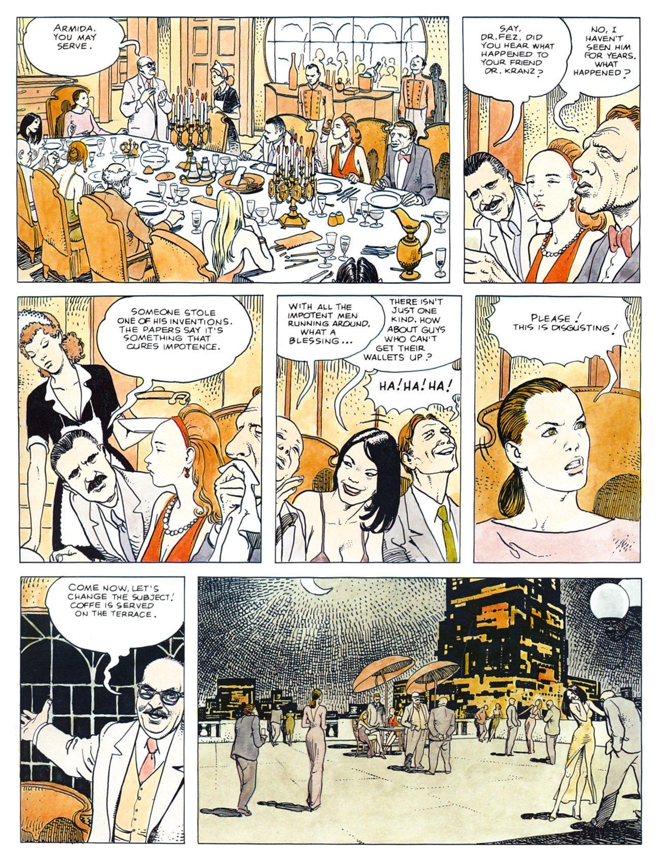 Click! 1 Manara graphic novel review