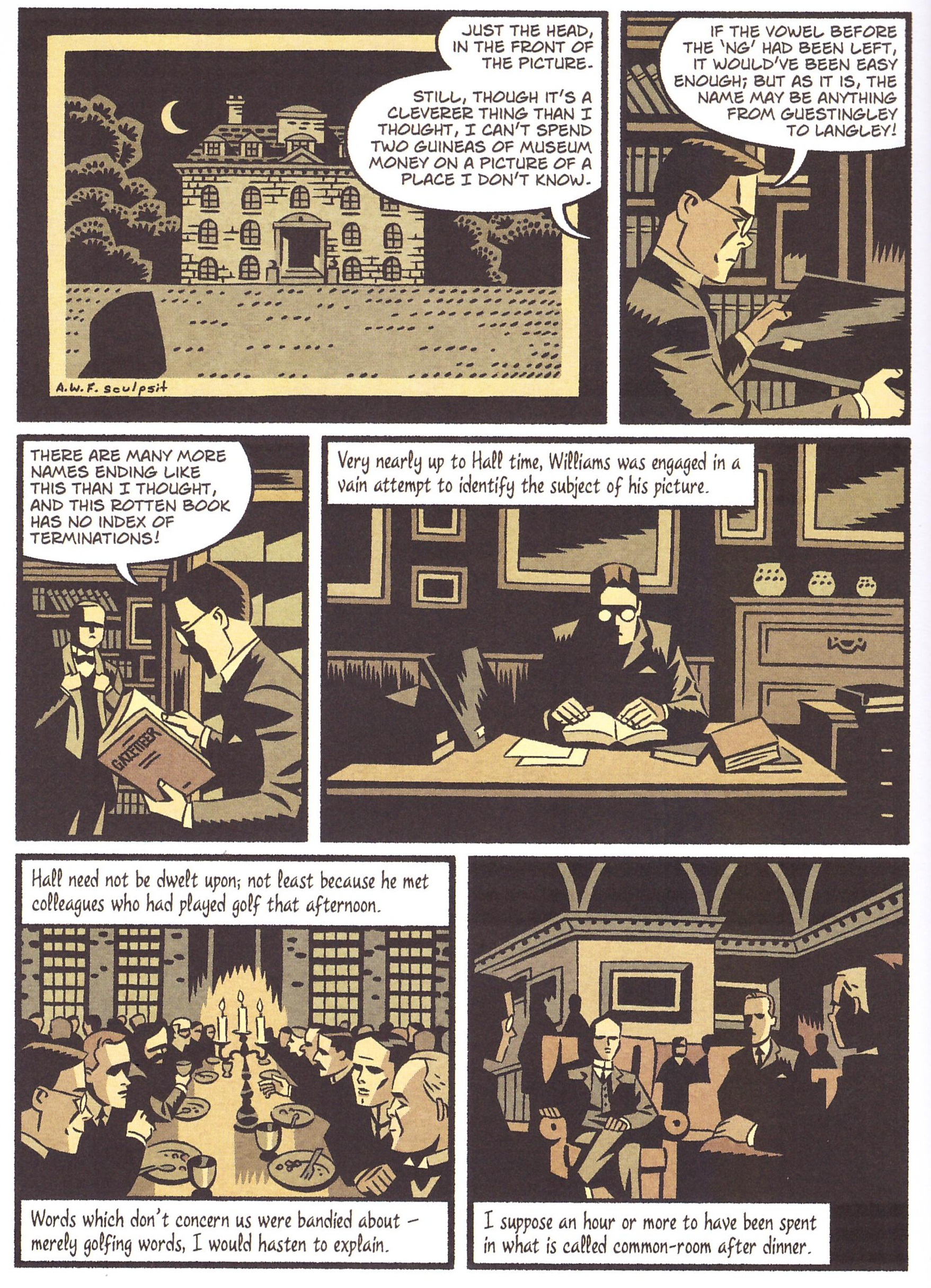 Ghost Stories of an Antiquary Graphic Novel review