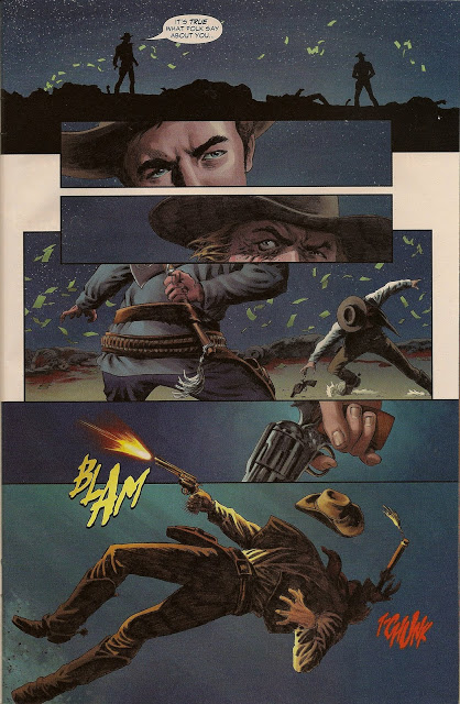 Jonah Hex Face Full of Violence review