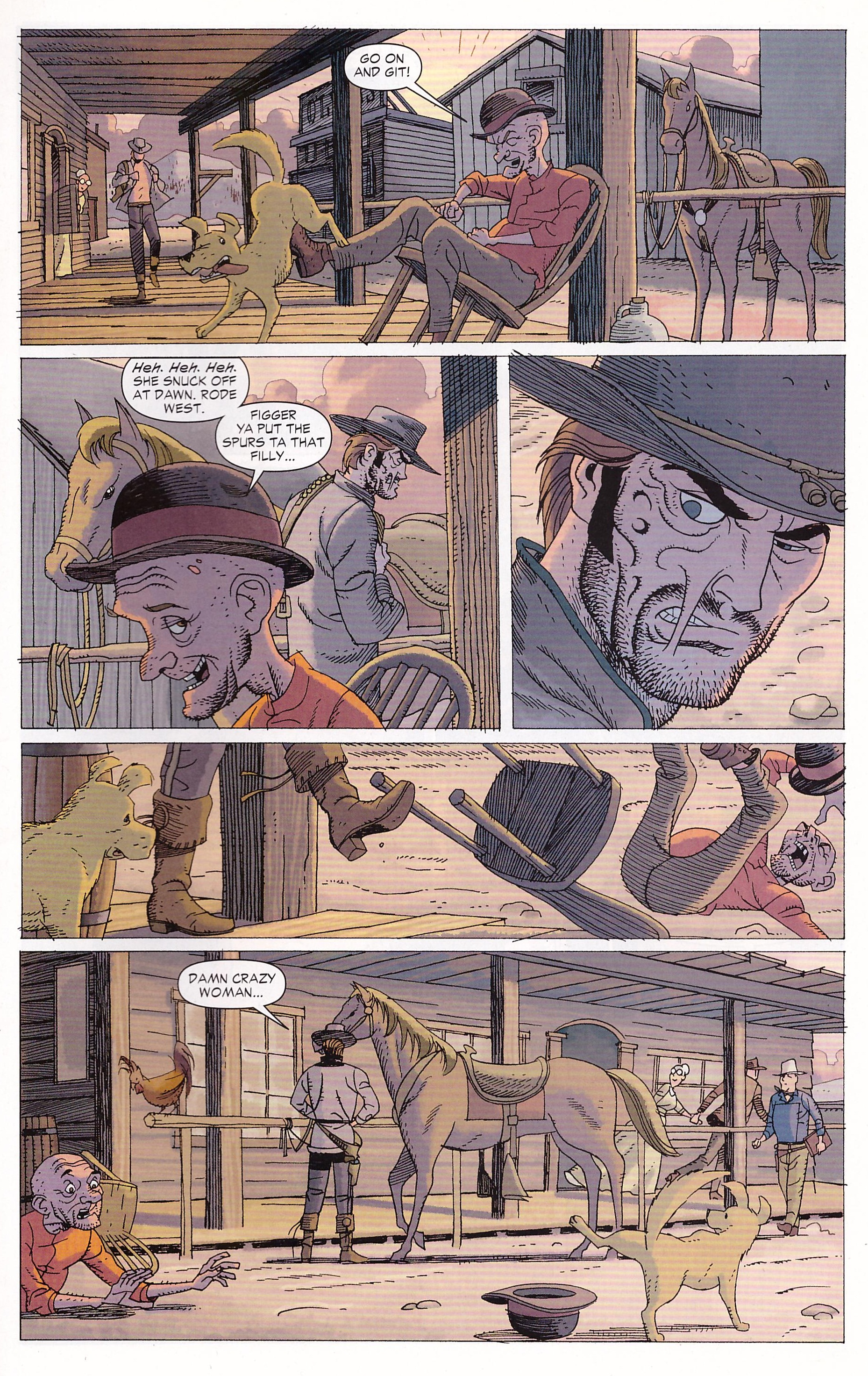 Jonah Hex Counting Corpses review