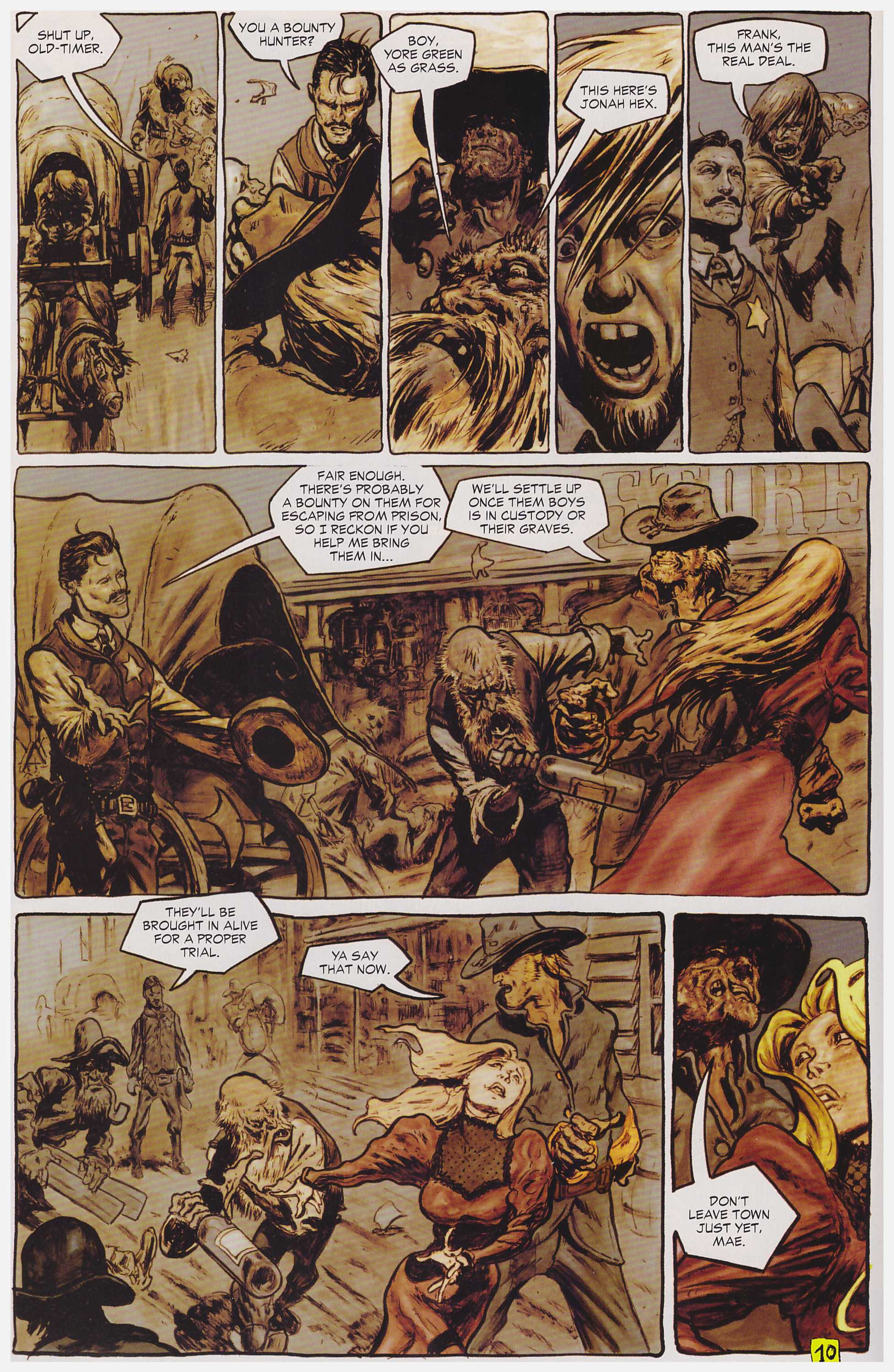 Jonah Hex Lead Poisoining review