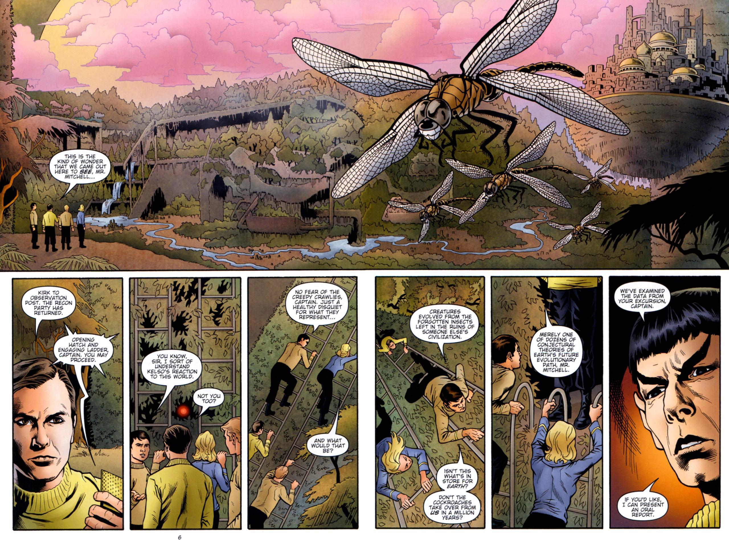 Star Trek Mission's End graphic novel review