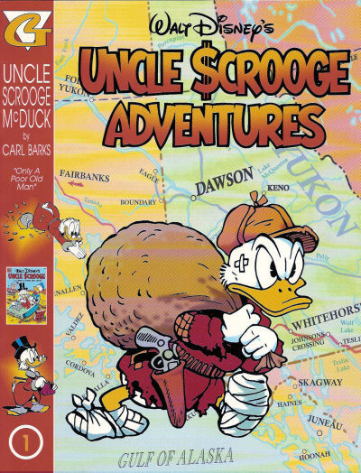 Uncle Scrooge Adventures in Color by Carl Barks 1