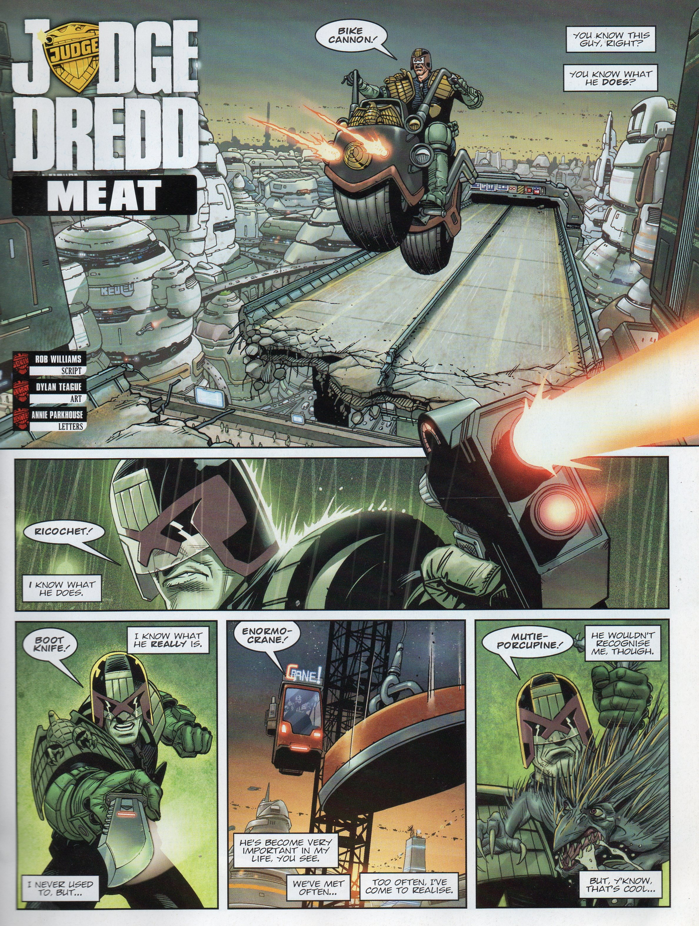 2000AD's Greatest review