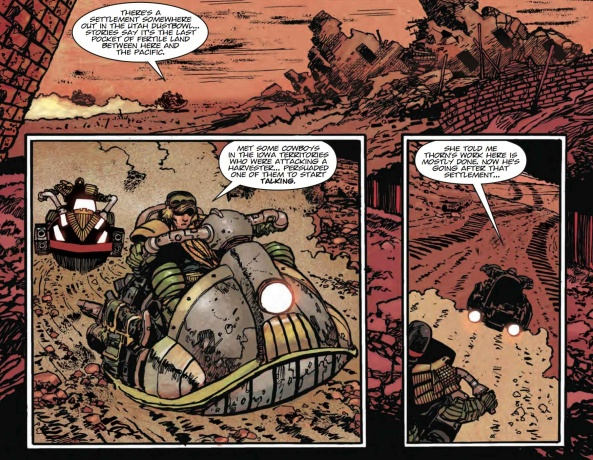 Judge Dredd Every Empire Falls review