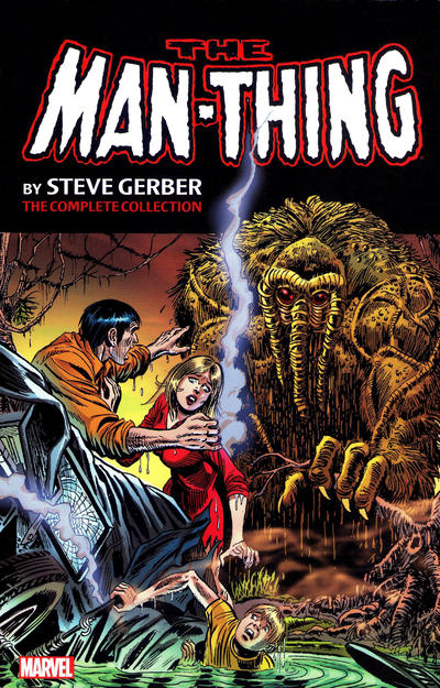 Man-Thing by Steve Gerber: The Complete Collection Volume 1