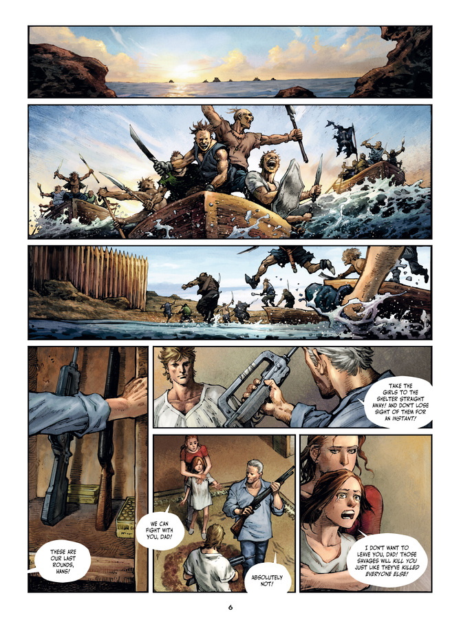 Savage Highway graphic novel review