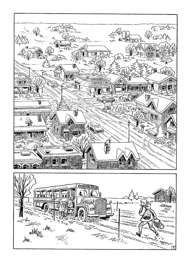 Snow Day graphic novel review